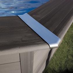 Piscine bois composite Avant Garde Gré 8,04 x 3,86 h1,24m