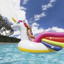 Licorne gonflable piscine Intex