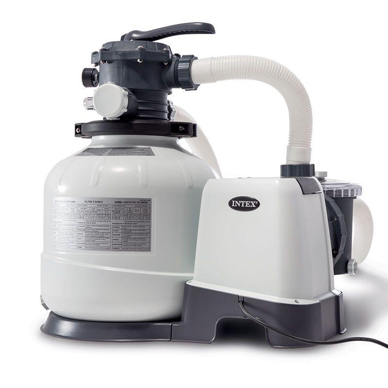 Platine de filtration à sable Intex 8m3/h