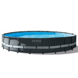 Piscine tubulaire Intex Ultra Frame XTR 6,10 x h1,22m