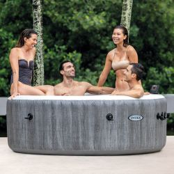 Pure Spa Baltik bulles 4 places luxe