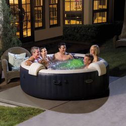 Spa Intex bulles 6 places luxe