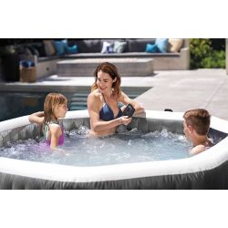 Spa Pure Spa Carbone bulles et jets 4 places