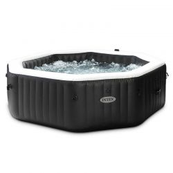 Spa Intex Pure Spa Carbone bulles et jets 4 places