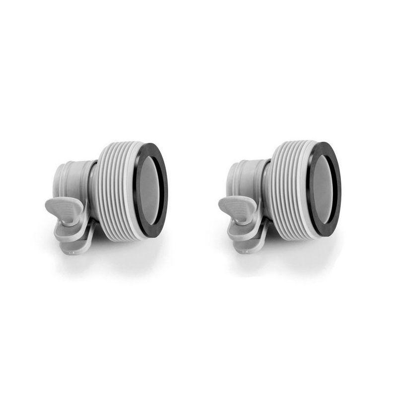 Lot de 2 adaptateurs type A 32-38mm Intex pour tuyau a bague de serrage