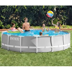 Piscine tubulaire Intex Prism 4,57 x h1,22m