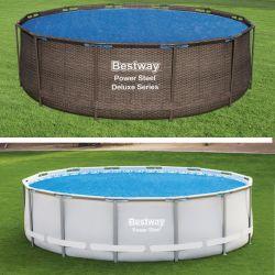 Bâche à bulles pour piscine Bestway ronde