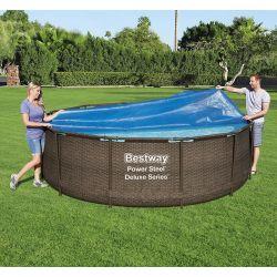Bâche à bulles pour piscine Bestway Swim Vista