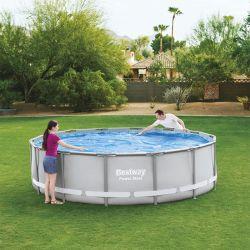 Bâche à bulles pour piscine Bestway Power Steel