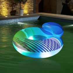 Fauteuil gonflable bouée LED Swim Bright Bestway
