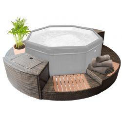 Kit de mobilier pour spa semi-rigide Octopus 4-6 places