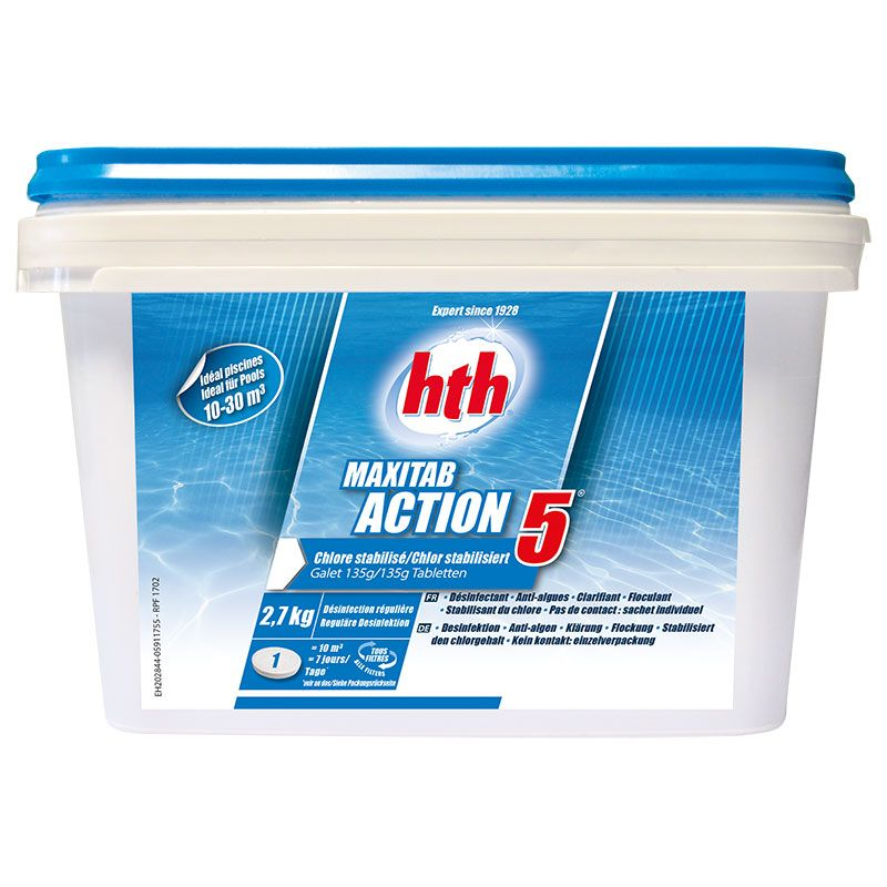 HTH Maxitab Action 5 - chlore multiactions