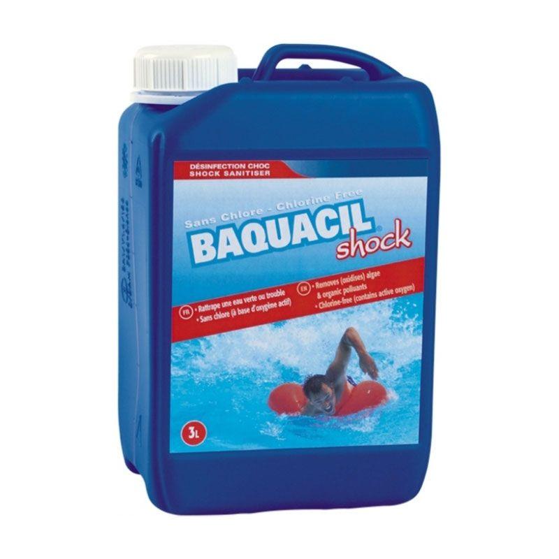 Hth baquacil shock oxyg ne actif liquide pour piscine - Traitement piscine a l oxygene actif ...