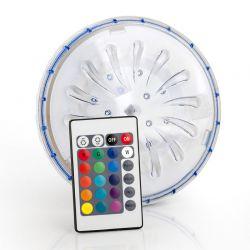Projecteur LED couleur Gre aimanté pour piscine hors-sol et acier