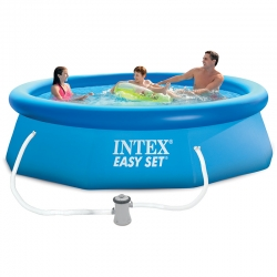 Piscine autoportée Intex Easy Set 3,05 x h0,76m
