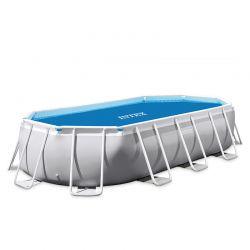 Bâche à bulles pour piscine Intex ovale
