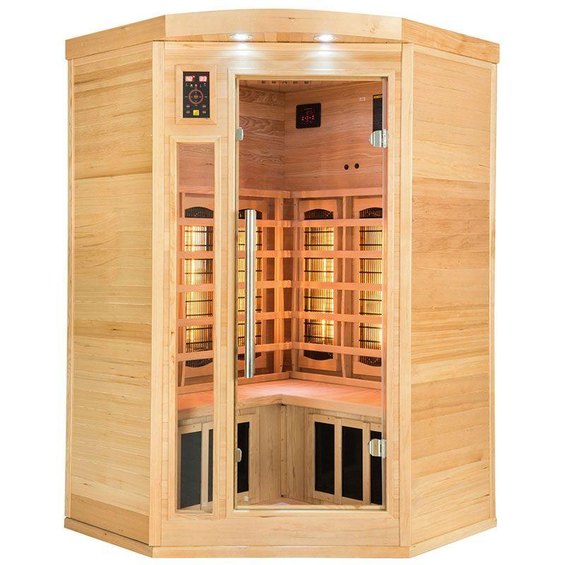 Sauna Infrarouge Apollon 2-3 places