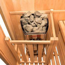 Sauna traditionnel à vapeur Zen 3 places
