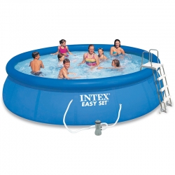 Piscine autoportée Intex Easy Set 4,57 x h1,07m
