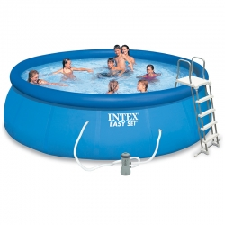 Piscine autoportée Intex Easy Set 4,57 x h1,22m