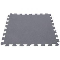Dalle de protection de sol piscine Intex (lot de 8 pieces)