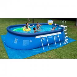 Piscine Intex Ellipse 5,49 x 3,05 x h1,07m
