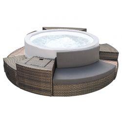 Kit de mobilier pour spa semi-rigide Vita Premium 6 places