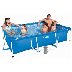 Piscine tubulaire Intex Metal frame 3,00 x 2,00 x h0,75m