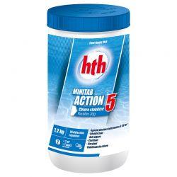 HTH Minitab Action 5 pastilles 20g - 1,2kg