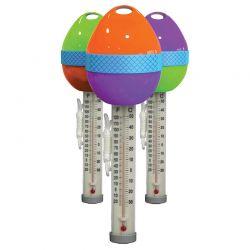 Thermomètre flottant design Oeuf