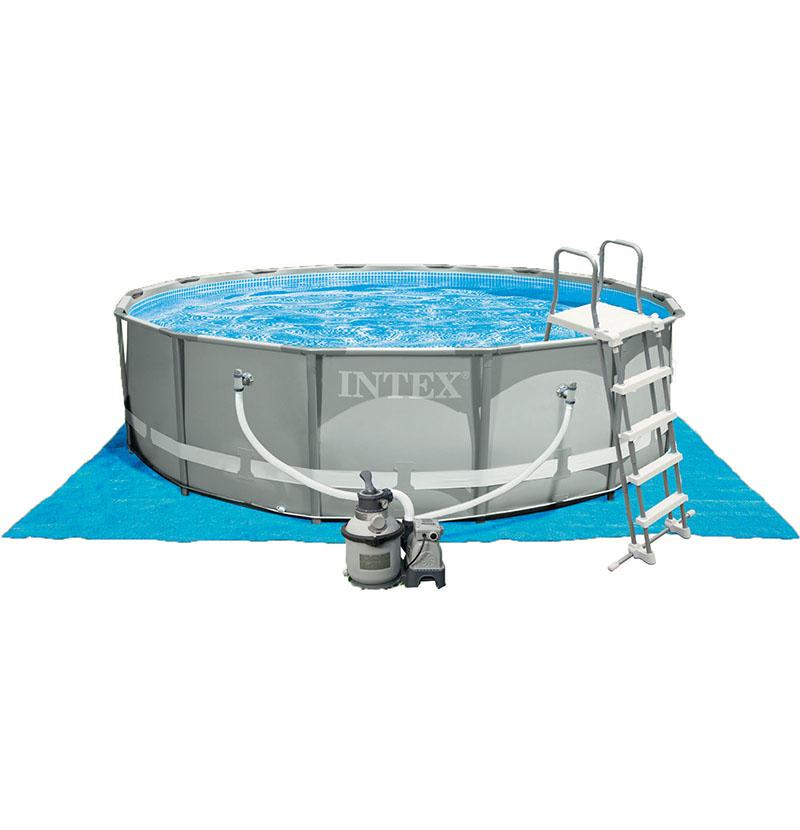 Pompe intex 6m3 gallery of tableau comparatif des filtres - Tapis de sol piscine intex ...