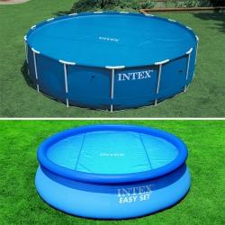 Bâche à bulles pour piscine Intex ronde
