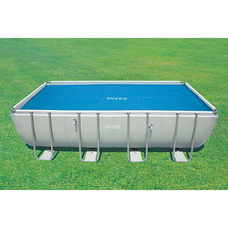 B che bulles pour piscine intex rectangulaire for Bache piscine sunbay