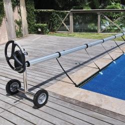 Enrouleur de bâches piscine enterrée Presto