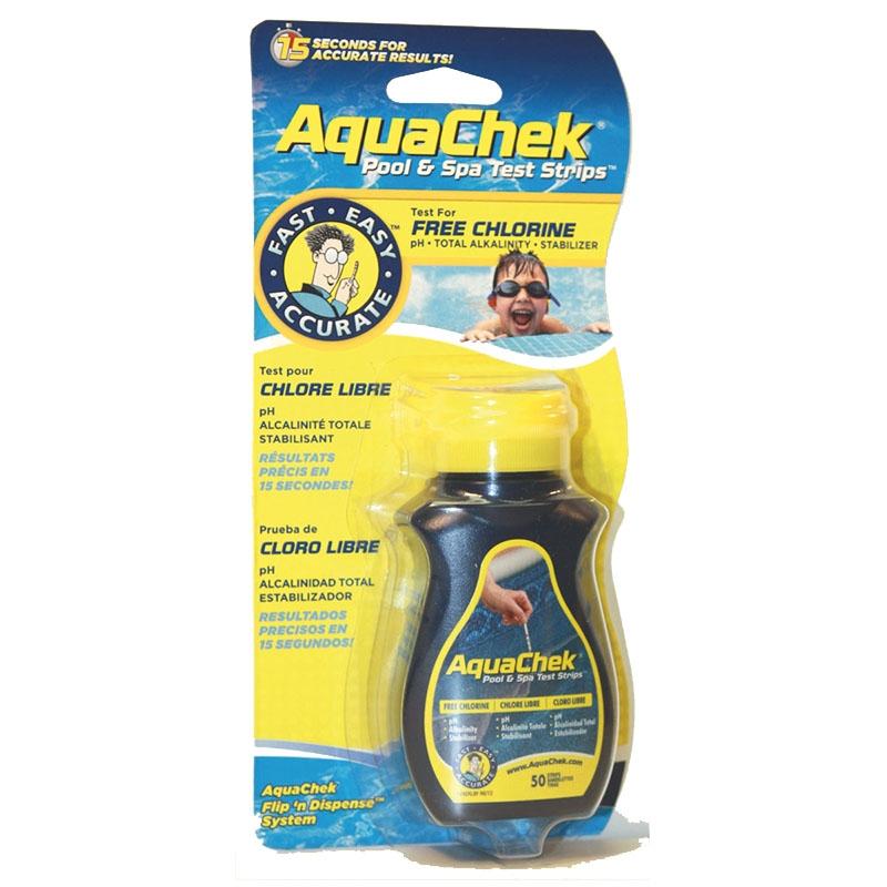 Aquacheck jaune (chlore)