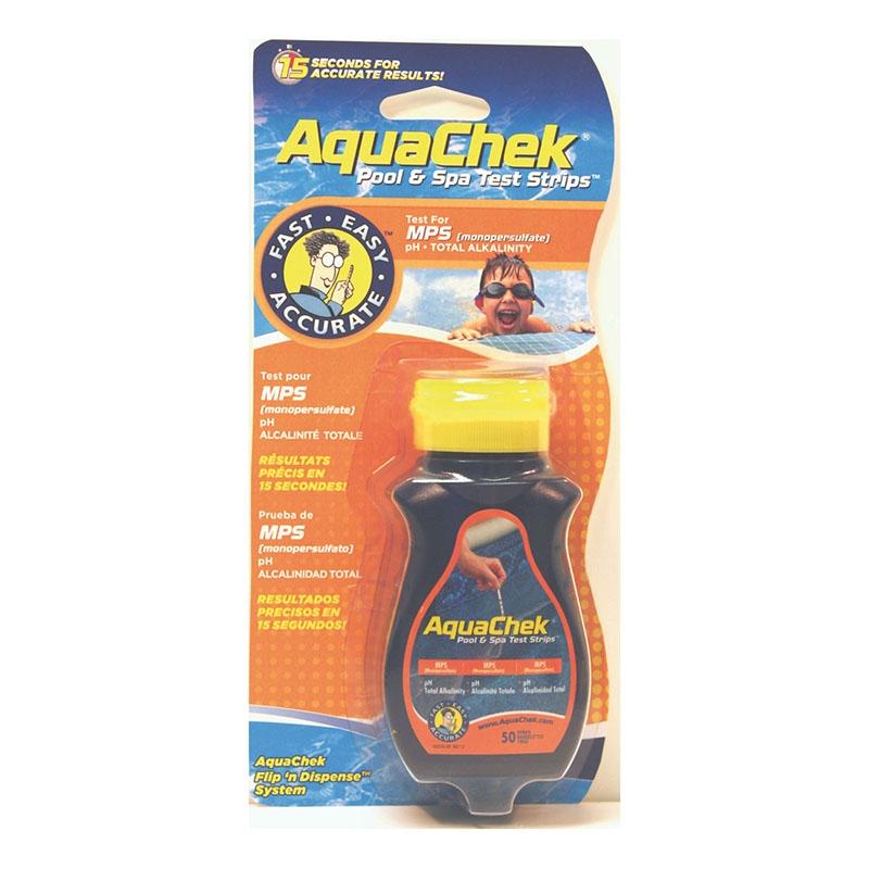 Aquacheck orange (oxygène actif)