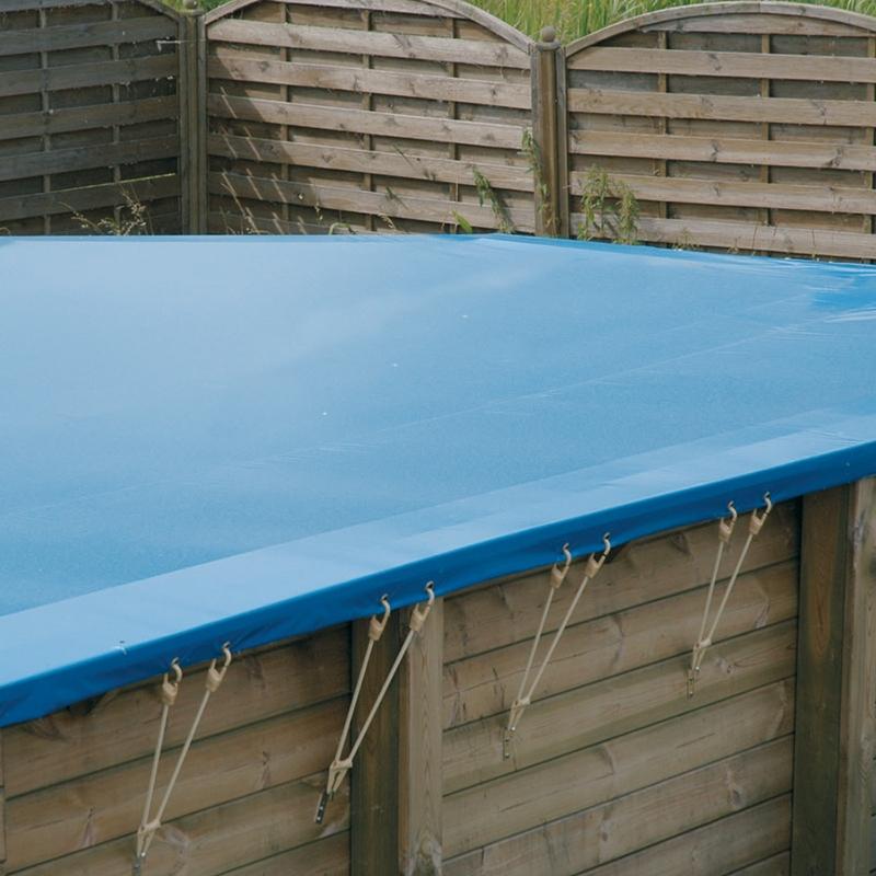 b che d 39 hivernage pour piscine bois ubbink rectangulaire. Black Bedroom Furniture Sets. Home Design Ideas