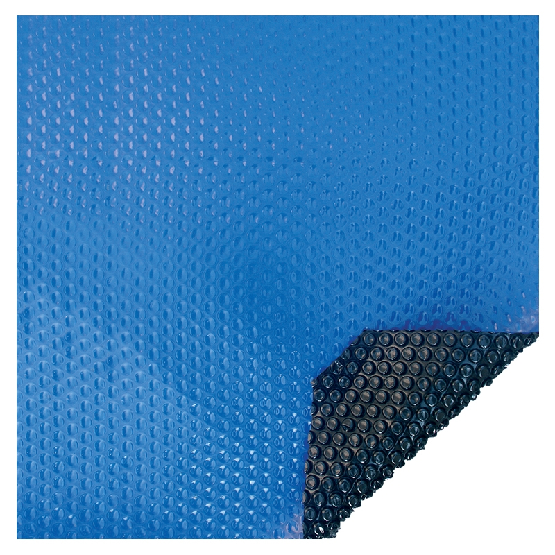 Bâche à bulles Eco 400 microns bleu - noir