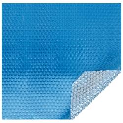 Bâche à bulles Eco 500 microns bleu - argent