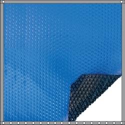 Bâche à bulles Quatro 400 microns bleu - noir