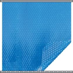 Bâche à bulles Duo 400 microns bleu - bleu