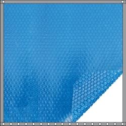 Bâche à bulles Quatro 400 microns bleu - bleu