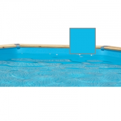 Liner pour piscine bois ubbink hexagonale for Commander liner piscine