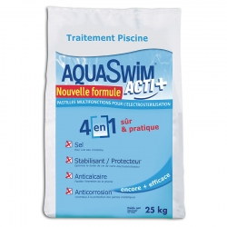 Sac de sel Aquaswim Acti plus - 25kg