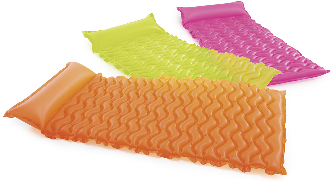 Matelas a rouler gonflable Intex