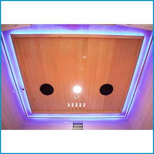 Eclairage Sauna Hybride