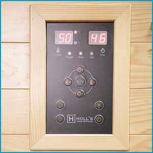 Panneau de contrôle Sauna Hybride