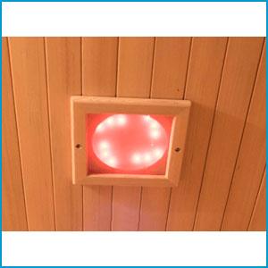 Chromothérapie pour Sauna infrarouge