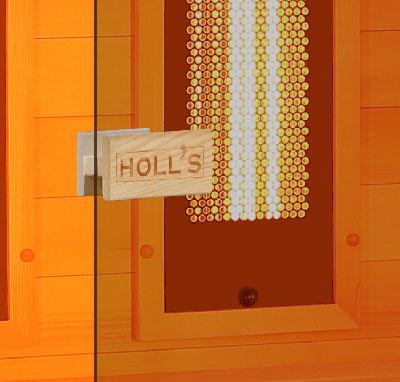 Porte en verre sécurisée