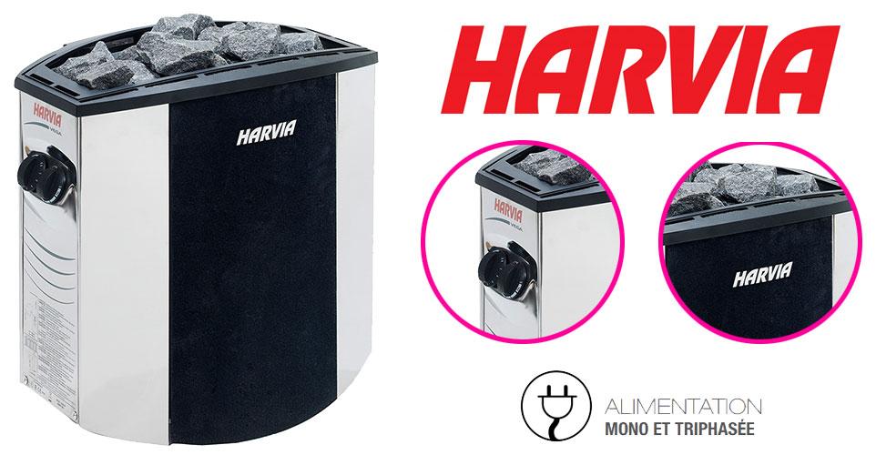 Poêle électrique Harvia Vega Lux